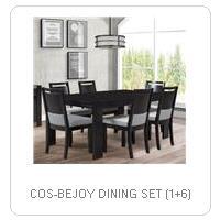 COS-BEJOY DINING SET (1+6)